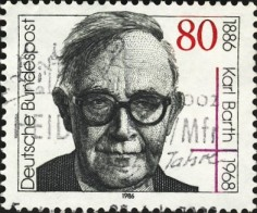 Karl Barth stamp