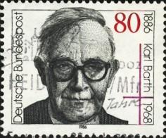 Karl Barth stamp