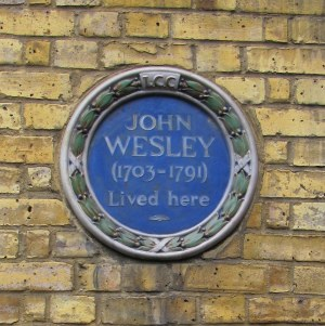 Wesley's House, City Road, London-1