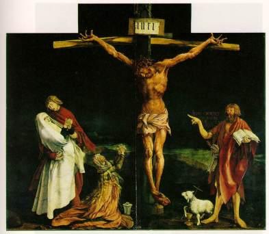 Isenheim altarpiece via ibiblio