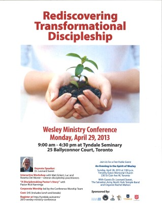 Ministry Conference poster