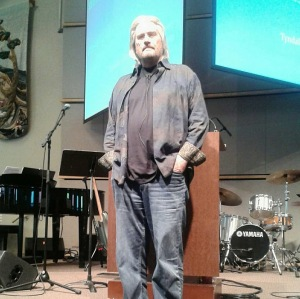 Len Sweet speaking at Tyndale