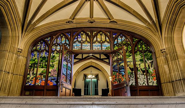 Albert College interior by tjchampagne via flickr