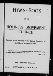 Holiness Movement Church Hymnal via internet archive