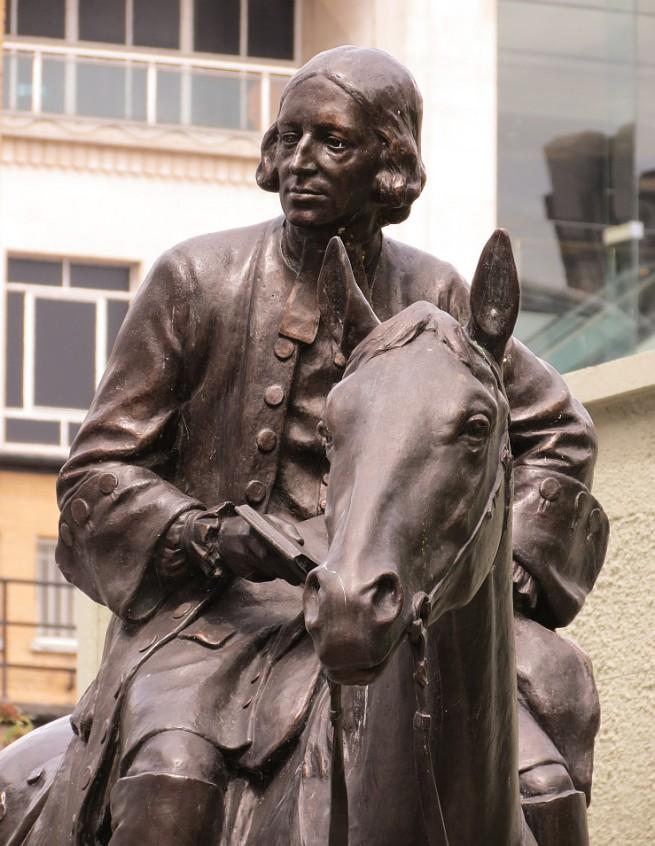 Wesley Statue at the New Room Bristol via Bob Speel