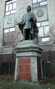 Ryerson statue on campus via wikimedia commons